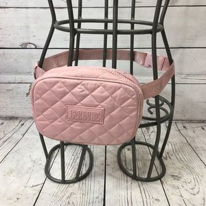 PINK Victoria's Secret Quilted Belt Bag